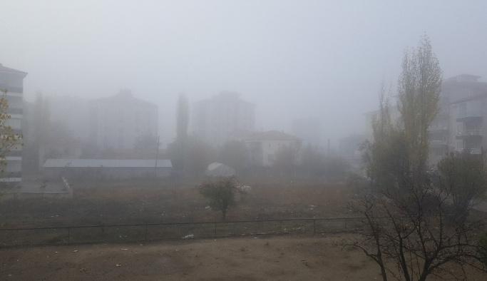 Isparta'da yoğun sis etkili oldu