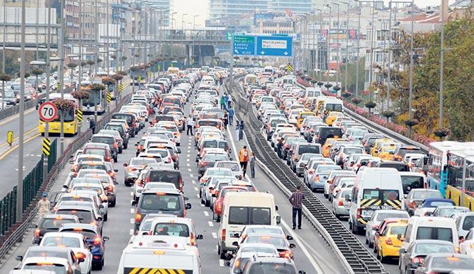İstanbul trafiğine 'Türkiye Kupası' ayarı