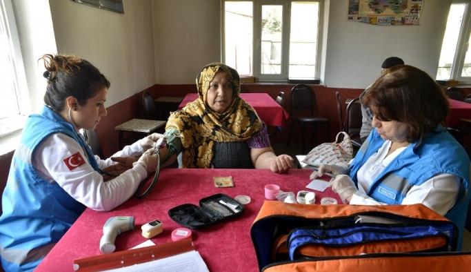 Kırsal mahallelerde sağlık taramaları