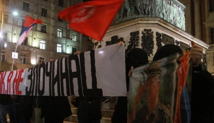 Mladic'e verilen ceza Sırbistan'da protesto edildi