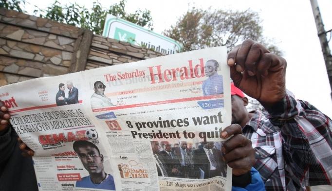 Mugabe'ye istifa çağrısı