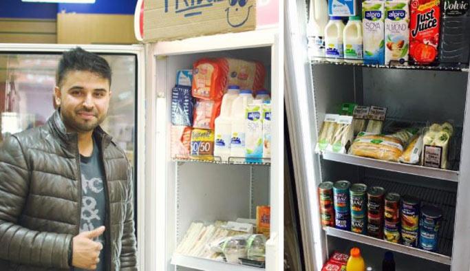 Müslüman bir market sahibinden gıda bankalarına alternatif