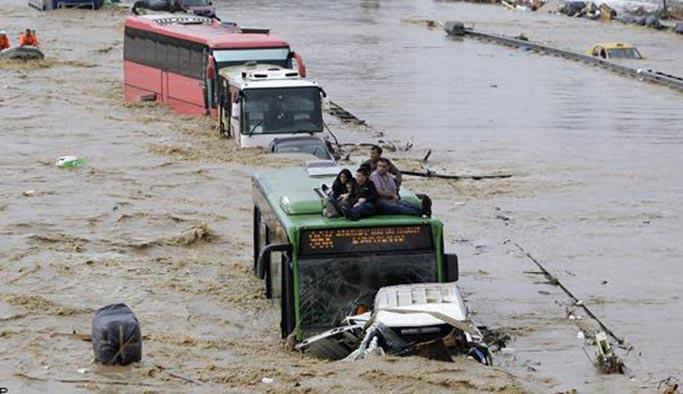 NASA: İstanbul sulara gömülecek