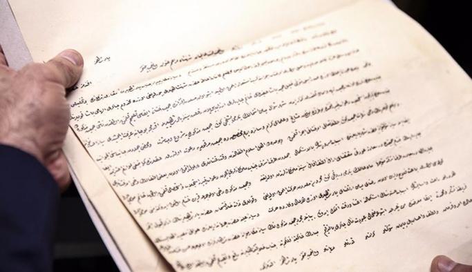 Osmanlı Arşivi'ne 200 bin yeni belge ekleniyor