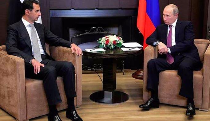 Putin, Esed ile görüştü Trump'a bilgi verdi