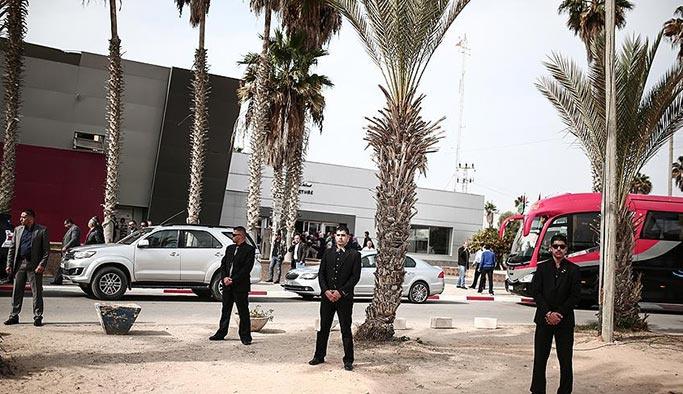 Refah Sınır Kapısı'nda bir ilk