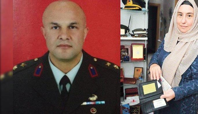 Şehit binbaşı, katilinin bilgilerini cebinde taşıyordu
