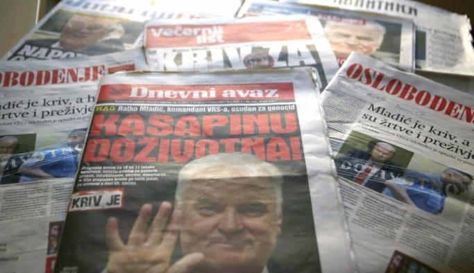 """""""Suçlu Mladic, kahraman olan kurbanlar"""""""