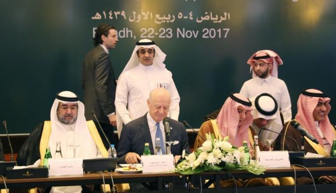 Suudi Arabistan'da kritik Suriye toplantısı
