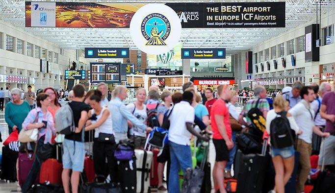 Turist sayısı şimdiden geçen yılı geçti