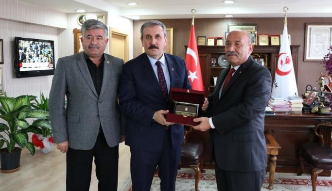 Türk Harb-İş Sendikası'ndan BBP'ye ziyaret