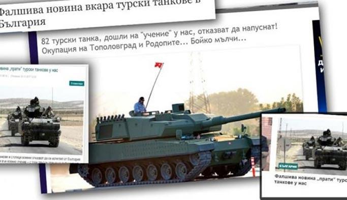 'Türk tankları' bir ülkeyi karıştırdı