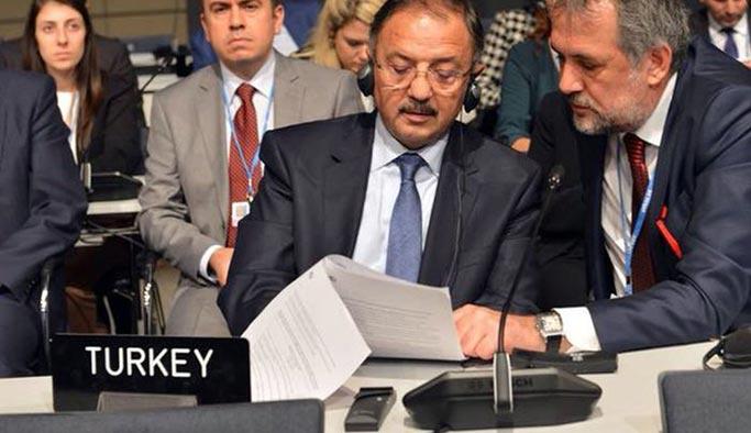 Türkiye heyeti BM toplantısını terk etti