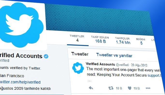 Twitter 'mavi tik, onaylı hesap' sistemini durdurdu
