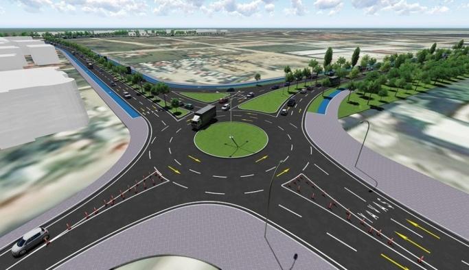 Yeni duble yol asfalta hazırlanıyor