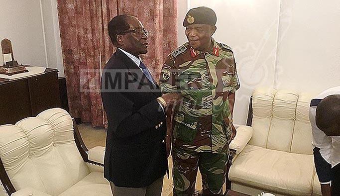Zimbabve'deki darbede yeni gelişme