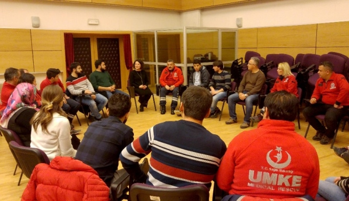 Afetlere Yönelik Psikolojik ve Sosyolojik Yönetim Projesi Gerçekleştirildi