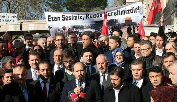 AK Parti Balıkesir İl Teşkilatından Trump'a protesto