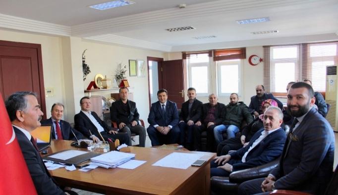 AK Parti ilçe Başkanından Karakullukçu'ya ziyaret