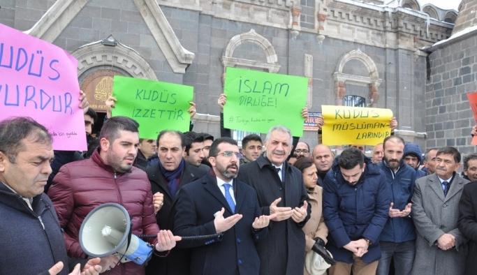 AK Parti Kars İl teşkilatından ABD'ye tepki