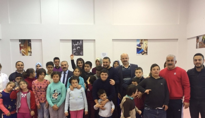 AK Parti milletvekili Açıkgöz, özel insanlarla buluştu