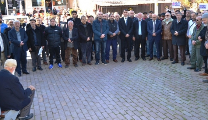 Altınova'dan Kudüs'e tam destek
