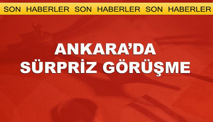Ankara'da sürpriz görüşme, Erdoğan ile Bahçeli görüşecek