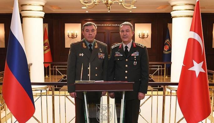 Ankara'da sürpriz konut, Rus general karargahta