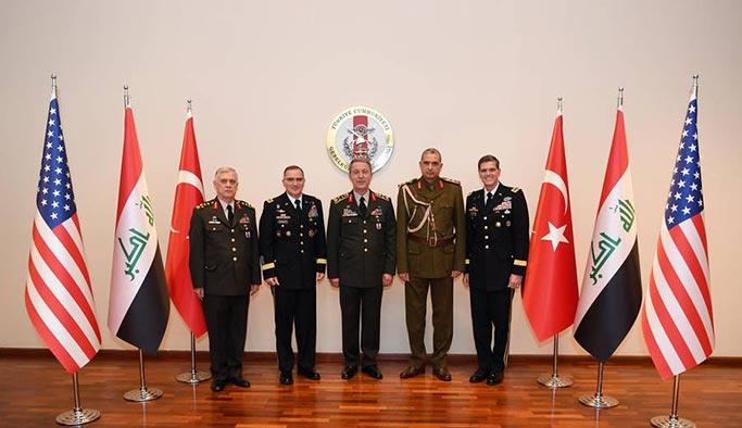 Ankara'daki kritik 'komutanlar' zirvesinden açıklama