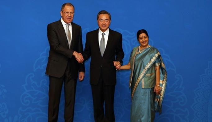 Asya'nın 3 büyük ülkesinden 10 konuda uzlaşma