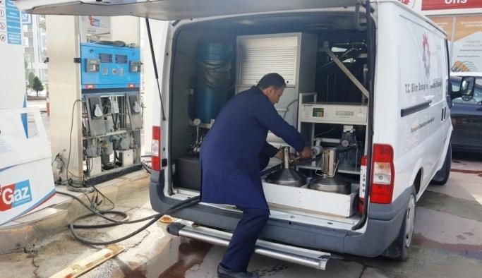 Aydın'da 229 adet akaryakıt ve LPG istasyonu denetlendi