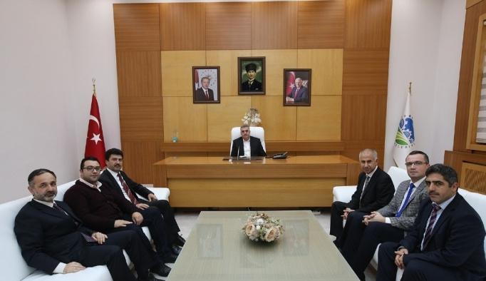 Başkan Toçoğlu SAGİF paydaşlarını ağırladı