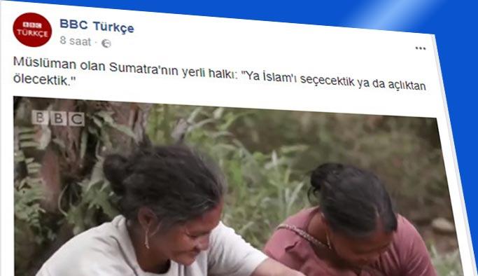 BBC'den tepki çeken 'çarpıtma' haber