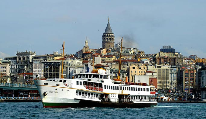 Beşiktaş-Adalar seferleri kış boyunca iptal