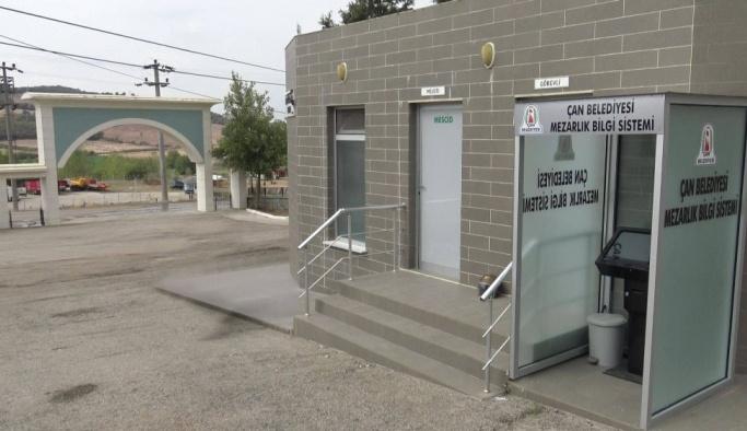 Çan Belediyesi'nden ücretsiz cenaze hizmetleri