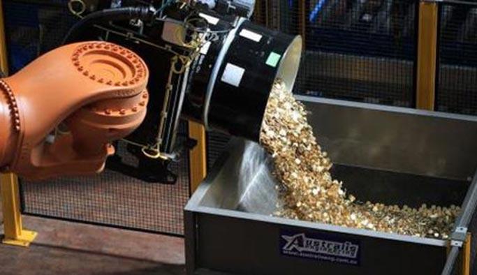 Darphanede çarklar yavaşladı, altın üretimi düştü