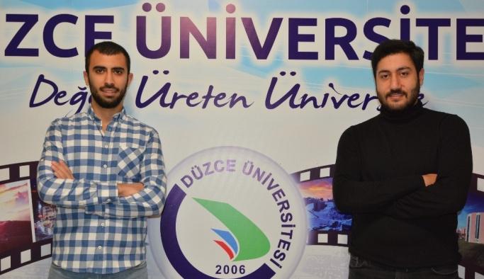 Düzce Üniversitesi öğrencilerinden uluslararası proje başarısı