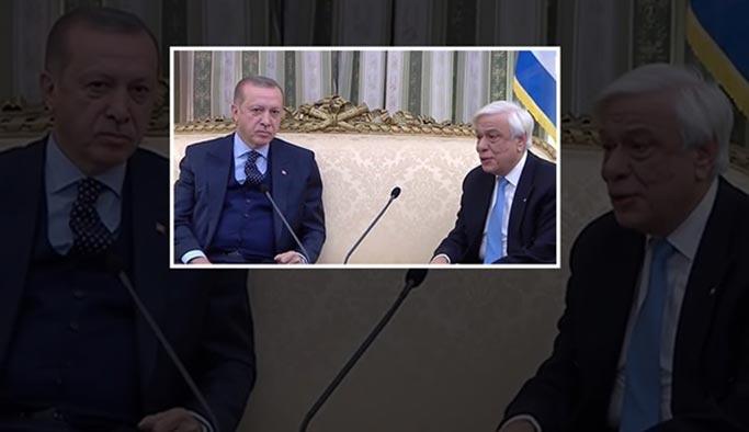 Erdoğan Lozan'a uymayan Yunanistan'ı Atina'da uyardı