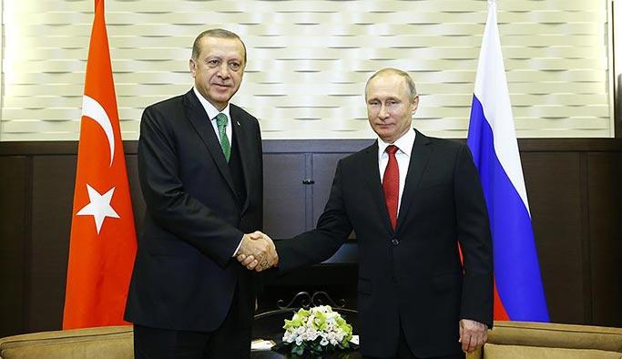 Erdoğan-Putin görüşmesi Beştepe'de başladı