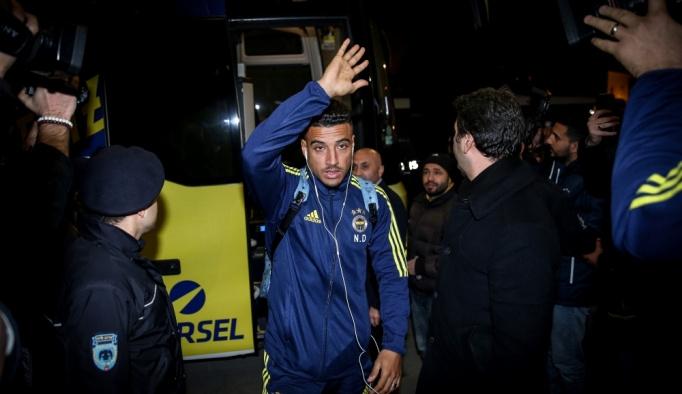 Fenerbahçe kafilesi, Bursa'ya geldi