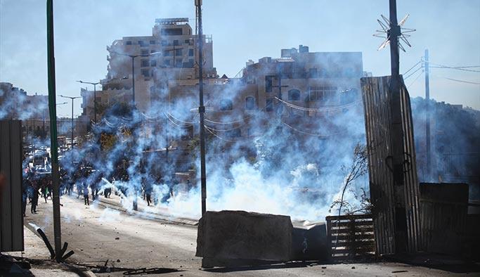 Filistin'de protesto gösterileri ikinci gününde, işgalciler müdahale ediyor
