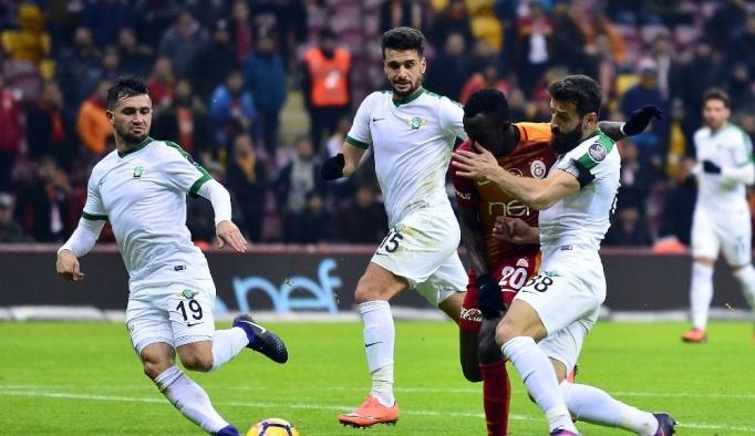 Galatasaray ile Teleset Mobilya Akhisarspor 15. randevuda