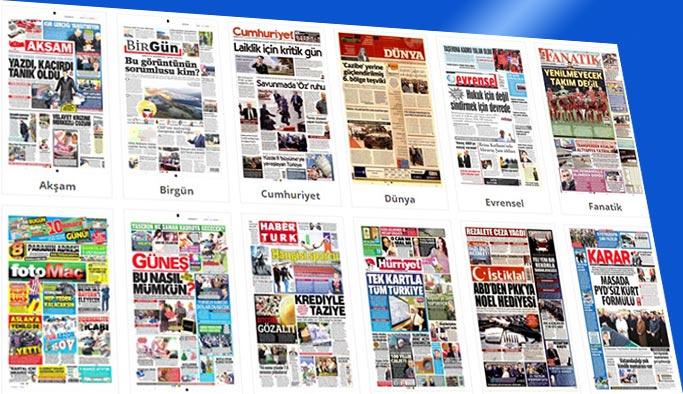 Gazetelerin bugünkü manşetleri 13 Aralık 2017