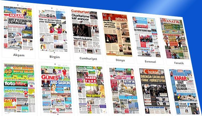 Gazetelerin bugünkü manşetleri 15 Aralık 2017