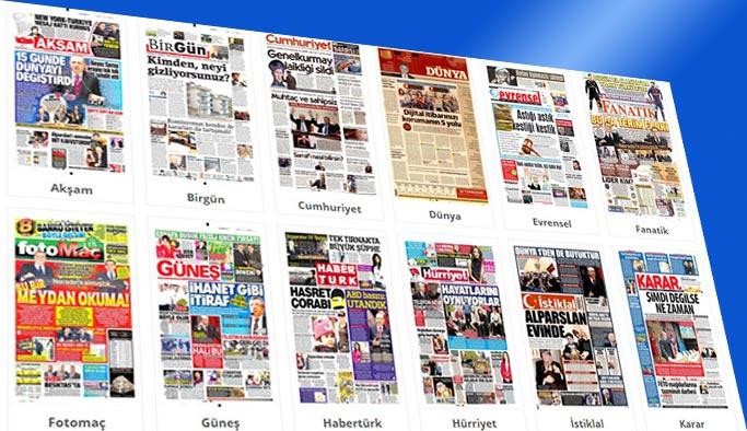 Gazetelerin bugünkü manşetleri 23 Aralık 2017