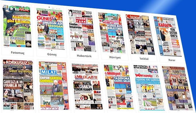 Gazetelerin bugünkü manşetleri 25 Aralık 2017