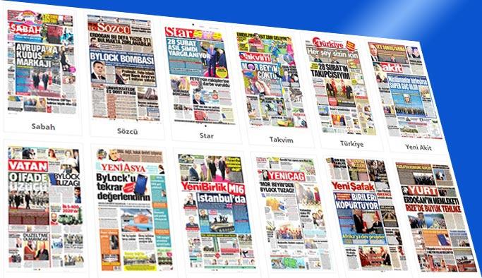 Gazetelerin bugünkü manşetleri 28 Aralık 2017