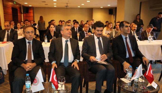 """Gaziantep'te """"Ceza Muhakemesinde Uzlaştırma"""" semineri"""