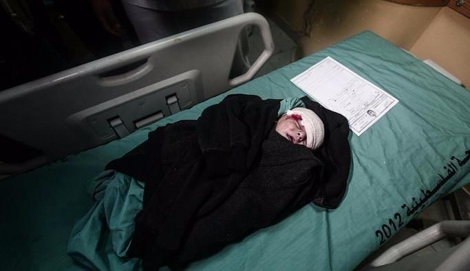 Gazze saldırısında en az 4 kişi yaralandı