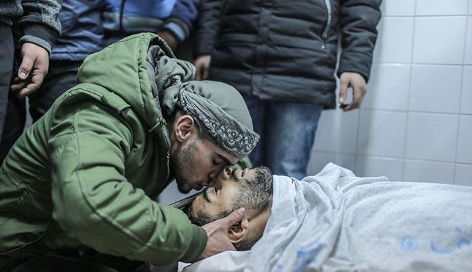Gazze, Kudüs şehitlerini son yolculuğuna uğurladı